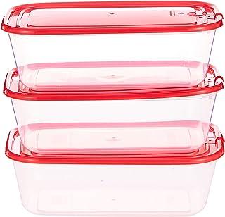 Raj Plastic Food Container 3 Piece Set- Rcpc03, Assorted