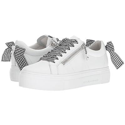 Kennel & Schmenger Big Gingham Lace Sneaker (White/Black Gingham) Women