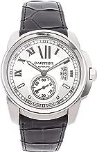 Cartier Calibre de Cartier Mechanical (Automatic) Silver Dial Mens Watch W7100037 (Certified Pre-Owned)