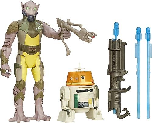 Star Wars La Figure des Rebelles et Garazeb Orrelios 3,75 Pouces Paquet de 2