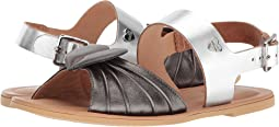 Leather Sandals w/ Tone on Tone Accessories