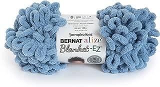 Bernat 16103737018 Alize Blanket-EZ Yarn, Country Blue