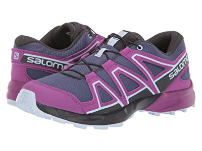 Salomon Kids Speedcross (Little Kid/Big Kid) (Crown Blue/Sparkling Grape/Phantom) Girls Shoes