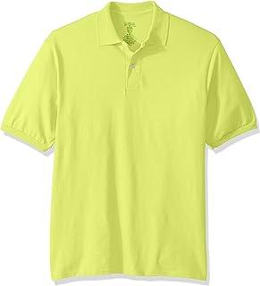 Jerzees mens Spot Shield Short Sleeve Polo Sport Shirt Polo Shirt