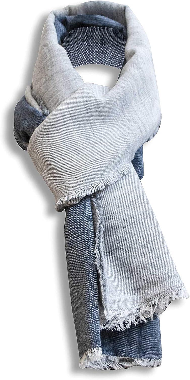 Bertoni Made in  Large Soft Scarf Shawl Blanket Pashmina – Winter Autumn Scarf