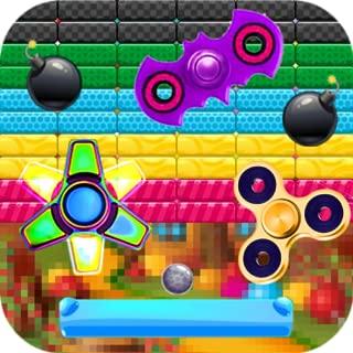 Sweet Fidget Spinner : Brick Breaker Ballz