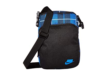 Nike Heritage Small Items Bags 2.0 All Over Print (Game Royal/Black/Game Royal) Bags