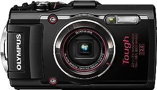 Olympus TG-4 16 MP Waterproof Digital Camera with 3-Inch LCD (Black)