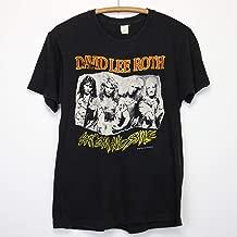 David Lee Roth Shirt Vintage tshirt 1986 Eat Em And Smile Album Tee 1980s Steve Vai Billy Sheehan Gregg Bissonette Jesse Harms Metal Rock