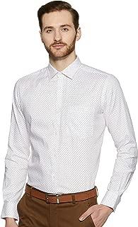Park Avenue Men's Checkered Slim Fit Formal Shirt