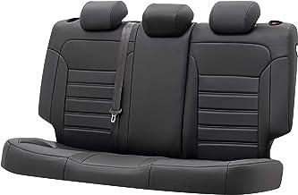 per e39 e60 f10 f11 A3 A4 A6 Q3 Q5 w203 w204 w205 nx RX Renegade Compass Coprisedili universali in Similpelle Accessori per Auto Neri compatibili con airbag