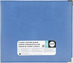 We R Memory Keepers 0633356609148 Classic Album Album & Sleeve-12 x 12-Ring-Country Blue, 12