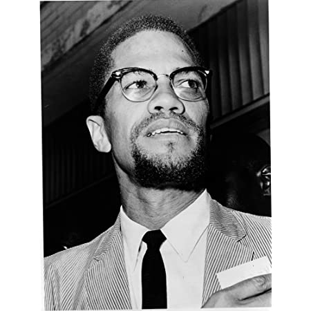"""Malcolm X Photograph - Historical Artwork from 1964 - (8.5"""" x 11"""") - Gloss"""