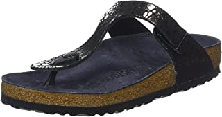 Birkenstock Gizeh BF Metallic Stones Black Womens Sandals