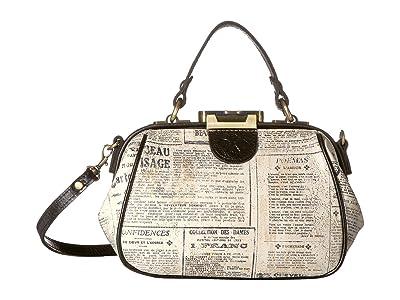 Patricia Nash Antica Small Gracchi (Newspaper) Handbags