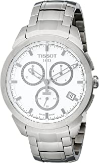Tissot T-Sport Men's Silver Dial Titanium Band Chronograph Watch - T069.417.44.031.00