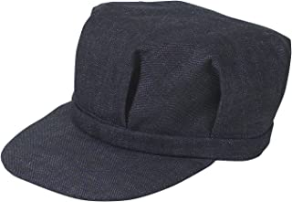 denim railroad hat
