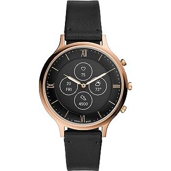 [フォッシル] 腕時計 ハイブリッドスマートウォッチHR FTW7011 レディース 正規輸入品 ブラック