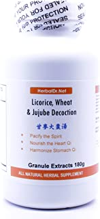 Licorice, Wheat, and Jujube Decoction Extract Powder Tea 180g (Gan Mai Da Zao Tang) Ready-To-Drink 100% Natural Herbs