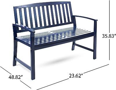 Amazon Com Lifetime 2871 Outdoor Glider Bench 4 Foot