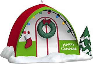 Adorno navideño distintivo 2017 Happy Campers