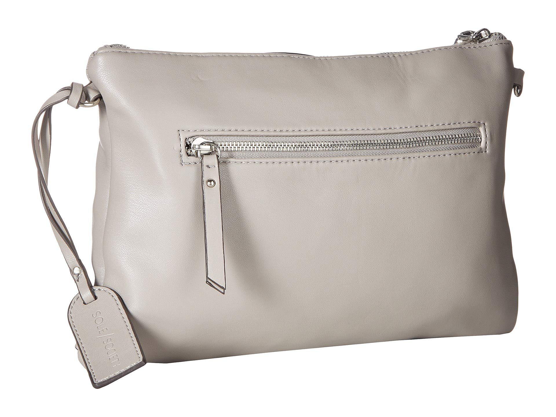 Grey Sole Convertible Crossbody Iva Society x8PqwAZvXq