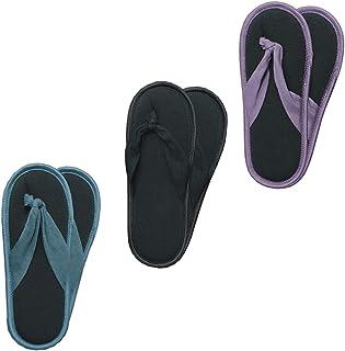 3 pares de calcetines antideslizantes para mujer como separadores de dedos - calcetines ABS - calcetines para casa - zapatillas de estar por casa - ideales para el verano