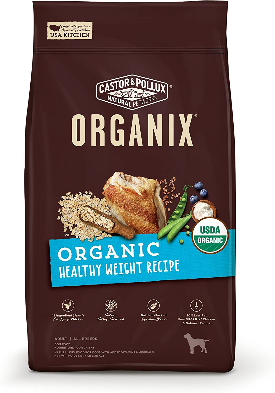 Castor & Pollux Organix Organic Healthy Weight Recipe, 4lbs