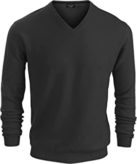 Factory Mens Premium Luxe Yarn V Neck Sweater