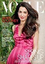 Vogue Magazine (May, 2018) Amal Clooney Cover