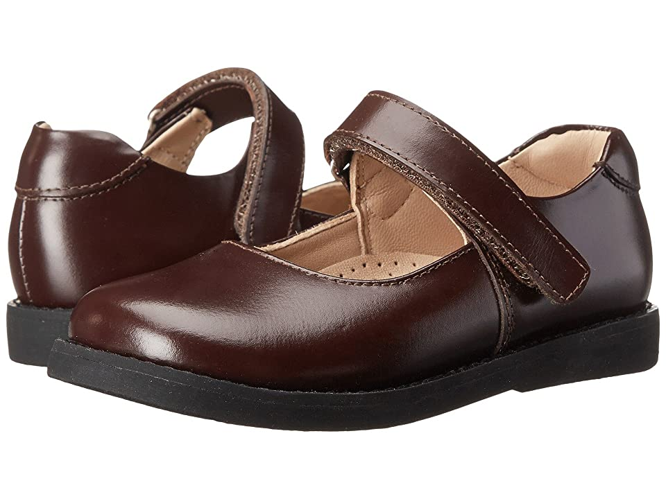 Elephantito Scholar Mary Jane (Toddler/Little Kid/Big Kid) (Brown) Girls Shoes