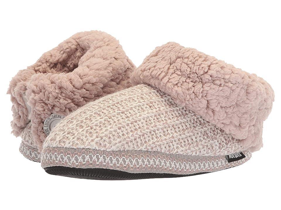 MUK LUKS Tinley (Violet Ice) Women's Slippers, Pink