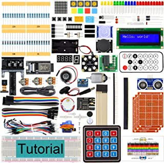 Freenove Ultimate Starter Kit for ESP32-WROVER (Contained) (Compatible with Arduino IDE), Onboard Camera Wi-Fi Bluetooth, ...
