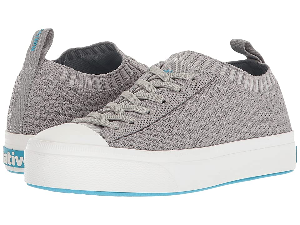 Native Kids Shoes Jefferson 2.0 Liteknit (Little Kid) (Pigeon Grey/Shell White) Kids Shoes