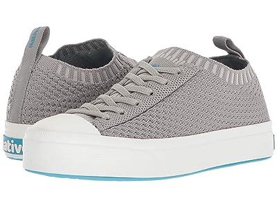 Native Kids Shoes Jefferson 2.0 Liteknit (Little Kid) (Pigeon Grey/Shell White) Kids Shoes