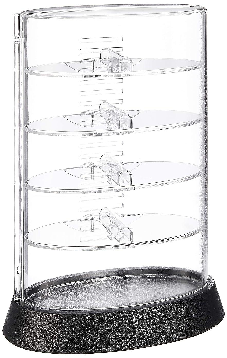 無し実施するエクステントシンコハンガー タワー型メガネコレクションケース アイコレクタワー ブラック