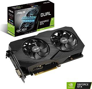 ASUS DUAL-GTX1660TI-O6G-EVO - Tarjeta gráfica de 6GB GDDR6 EVO alcanza Frecuencias de refresco Altas para Que arrases en los Juegos FPS sin Tener Que esforzarte, 192 bits, PCI Express 3.0