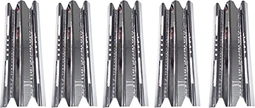 Zljiont 5 Pack Stainless Steel Heat Plate(20Ga) Replacement for Broil King Parts Broil King Parts and Imperial Series Grills, Broil King 1992 & Later Models 9561-54, 9561-57