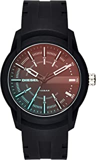Diesel Armbar Men's Black Dial Silicone Analog Watch - DZ1819