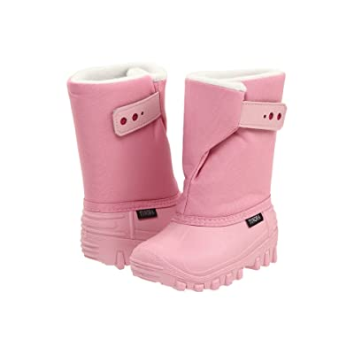Tundra Boots Kids Teddy 4 (Toddler/Little Kid) (Pink/Fuchsia) Girls Shoes
