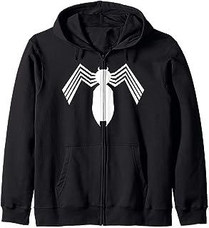 Marvel Spider-Man Arachnid All White Logo Sweat à Capuche