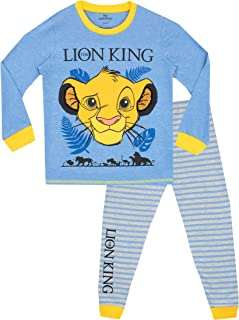 Disney Pijamas de Manga Larga para niños Lion King