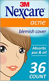 Nexcare Acne Cover, Invisible, Drug Free, 36 Count
