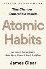 Atomic Habits (MR-EXP): An Easy & Proven Way to Build Good Habits & Break Bad Ones Capa comum