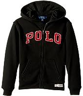 Polo Ralph Lauren Kids - Cotton-Blend-Fleece Hoodie (Little Kids/Big Kids)