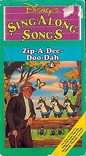 Disney's Sing Along Songs Zip-a-dee-doo-dah - Volume Two VHS