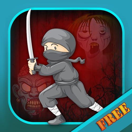 Ninja War : der Kampf gegen die Schatten 7 Samurai-Klinge-Clan - Gratis-Edition