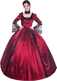 Colonial Georgian Penny Dreadful Victorian Dress Gothic Period Ball Gown Reenactment Theater Costumes