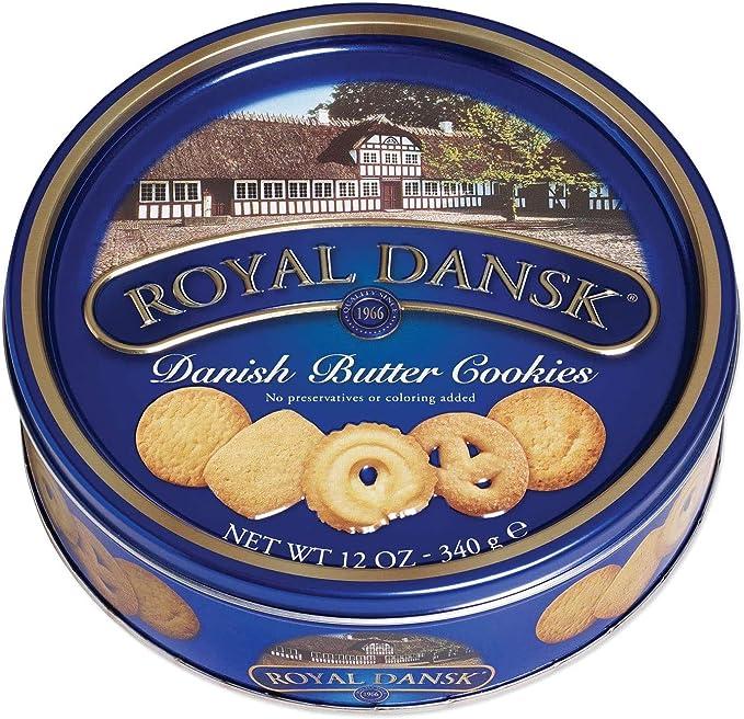Roal Dansk Biscotti Al Burro Biscotti Danesi Biscotti Pantry 1 Pz 340 Gr Amazon It Alimentari E Cura Della Casa