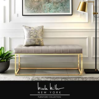 Best leather and metal bench Reviews